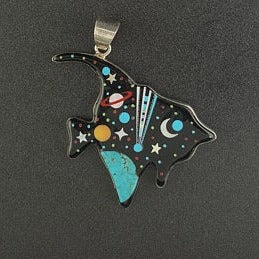 Big Fish inlay Pendant