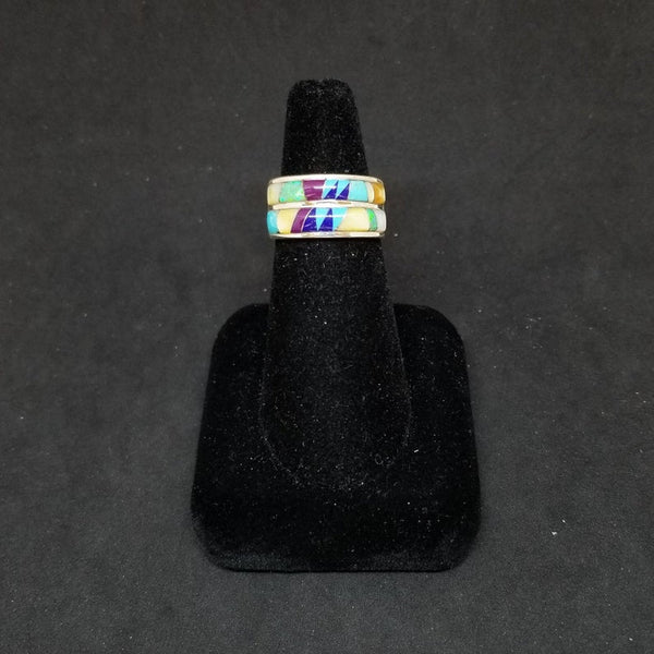 Double Layer inlay ring