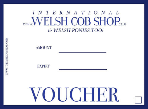 Welsh Cob Shop Gift Voucher