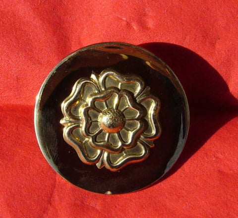 Tudor Rose Brass Rosettes