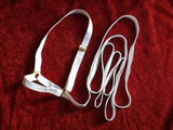 Fixed Head Halter (NON-SLIP) Plain web lead.
