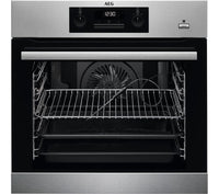 AEG BES352010M SteamBake Electric Oven - Stainless Steel