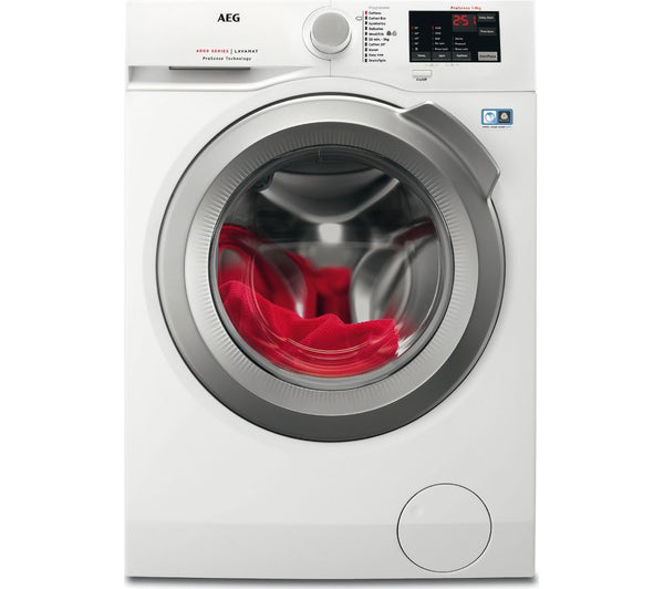 AEG ProSense L6FBI842N 8 kg 1400 Spin Washing Machine in White