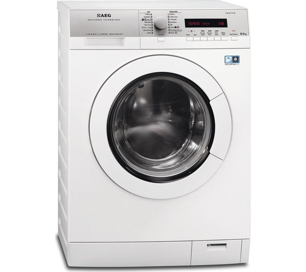 AEG L76685NWD 8kg + 6kg 1600 rpm Washer Dryer White