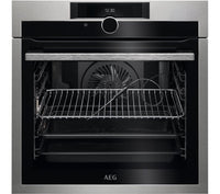 AEG SenseCook BPE842720M Electric Oven in Stainless Steel