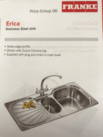 Stainless Steel Franke Sink