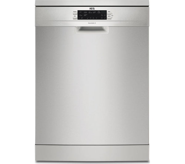 AEG FFE63700PM Full-size Dishwasher in Stainless Steel