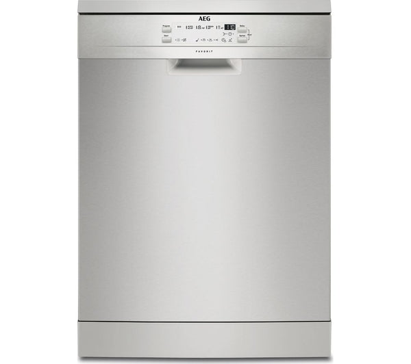 AEG FFB53600ZM Full-size Dishwasher in Stainless Steel
