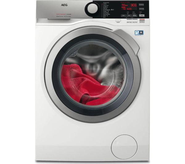 AEG L7WEE965R 9 kg Washer Dryer in White