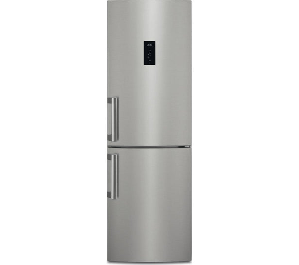 CustomFlex RCB53724MX 60/40 Fridge Freezer - Silver & Stainless Steel