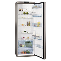 AEG S74010KDX0 Tall Larder Fridge, Stainless Steel