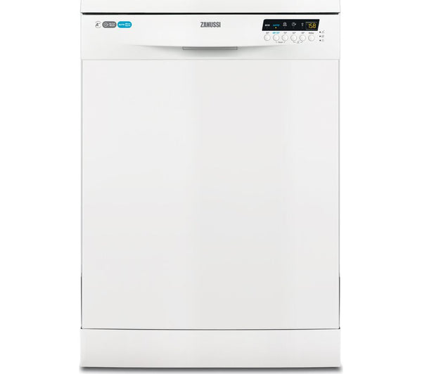 ZANUSSI ZDF26020WA Full-size Dishwasher in White
