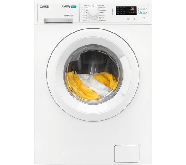 ZANUSSI ZWD71663NW Washer Dryer in White