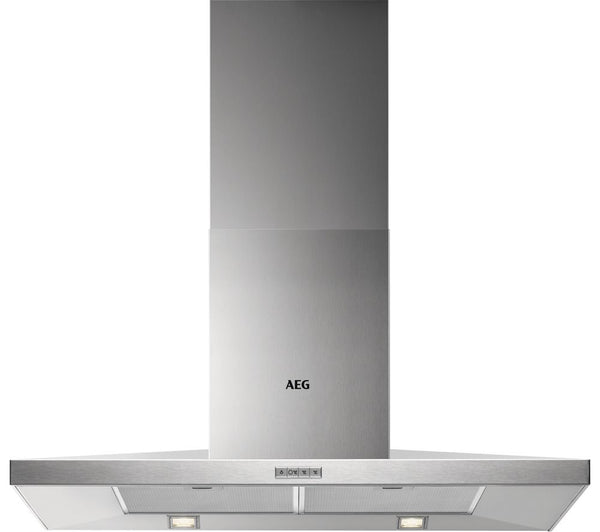 AEG DKB3950M Chimney Cooker Hood - Stainless Steel