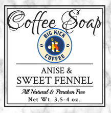Anise and Sweet Fennel Coffee Soap