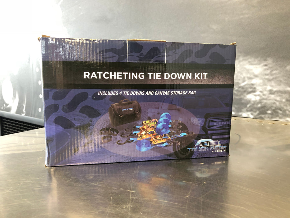 RATCHETING TIE DOWN KIT