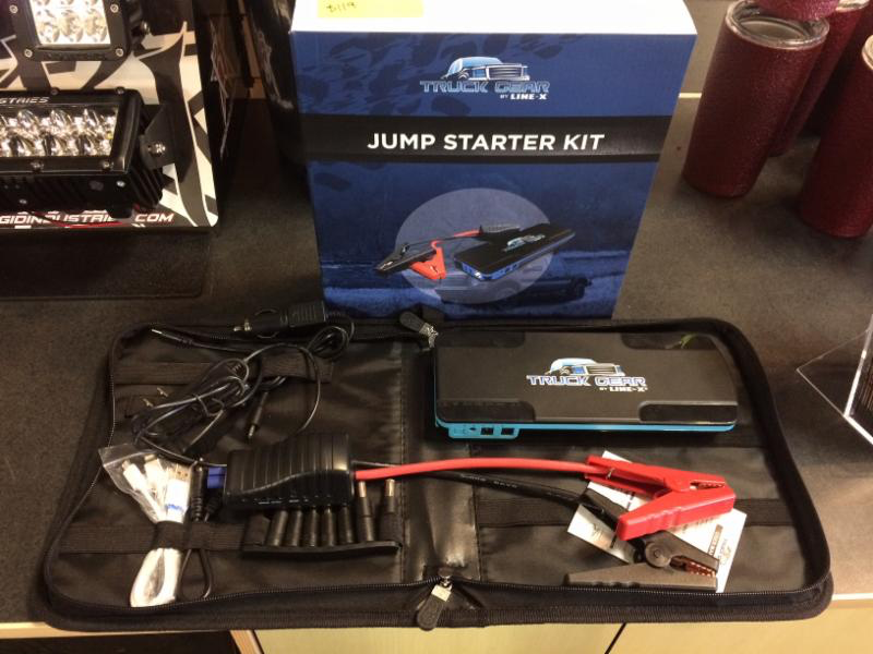 JUMP STARTER AND POWER BANK