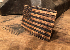 Bourbon Barrel American Flag Patch