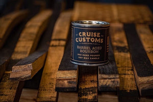 Barrel Aged Bourbon Candles