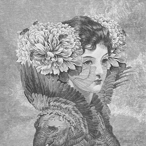 Courtesan with Peonies