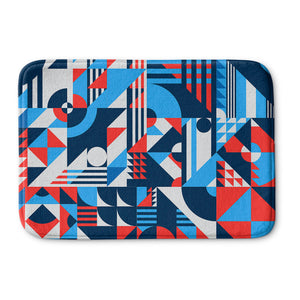 Shapes Pattern Bath Mat