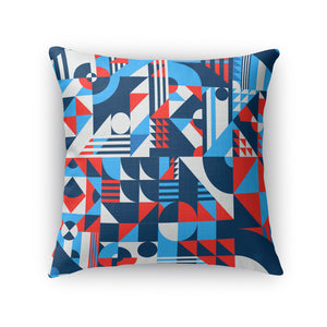 Shapes Pattern Throw Pillow