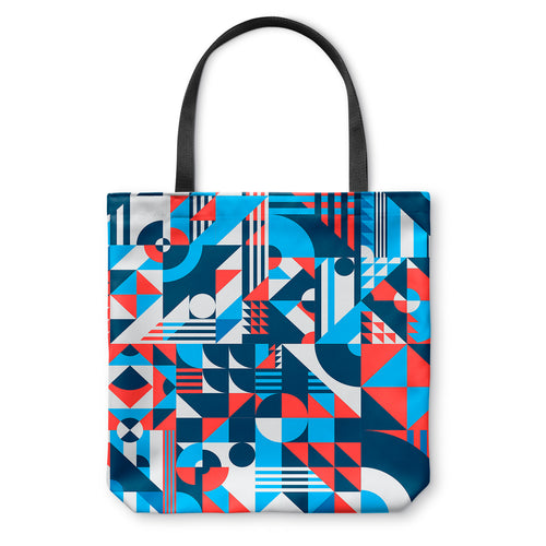 Shapes Pattern Tote Bag