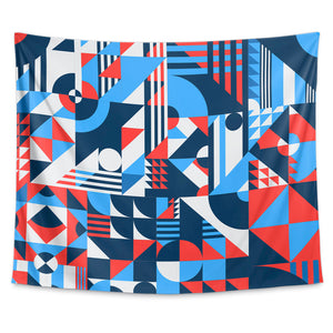 Shapes Pattern Wall Tapestry