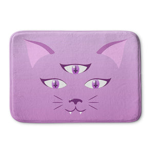 Devil Kitty Bath Mat