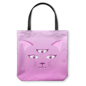 Devil Kitty Tote Bag
