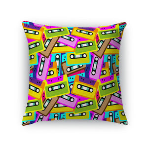 Mixtapes Throw Pillow