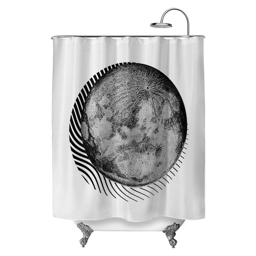 Ekleipsis Shower Curtain