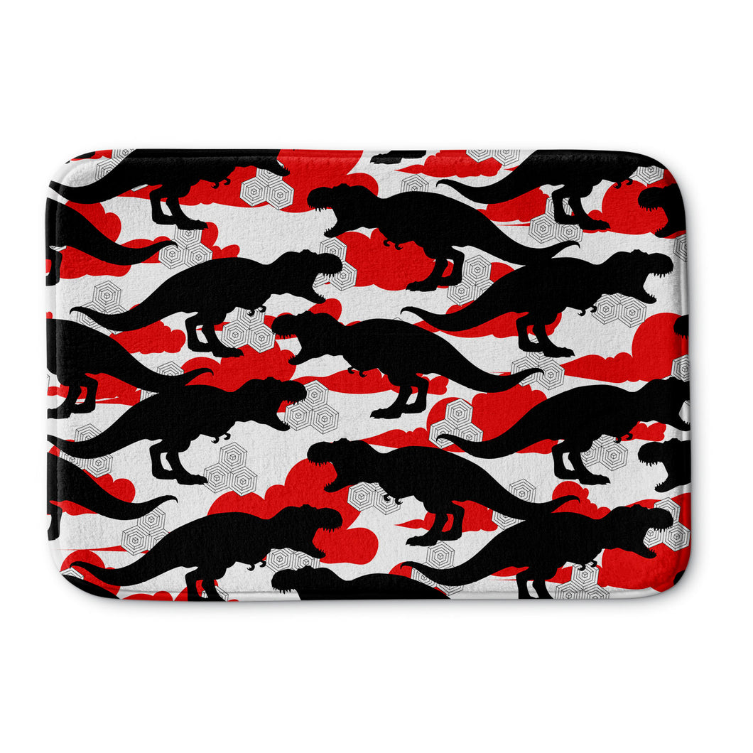 Cloud T. Rex Bath Mat