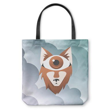 Eye Wolf Tote Bag