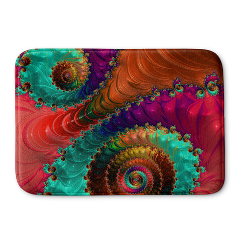 Fractal No. 31 Bath Mat