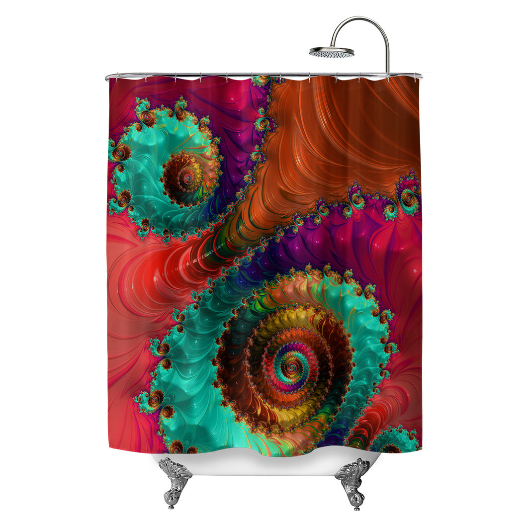 Fractal No. 31 Shower Curtain
