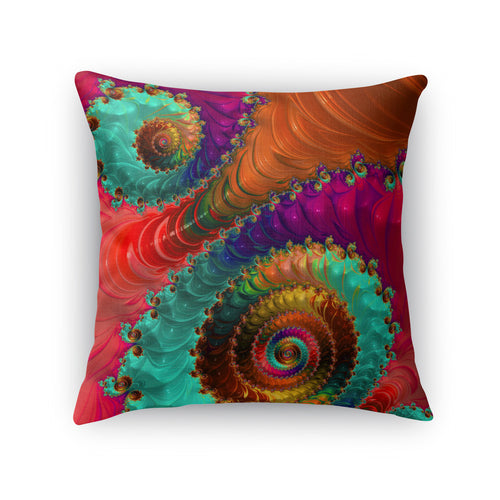 Fractal No. 31 Throw Pillow