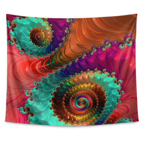 Fractal No. 31 Wall Tapestry