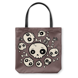 Skull Friends Tote Bag
