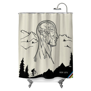 Ride Lots Shower Curtain