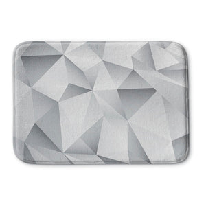 White Crystal Bath Mat