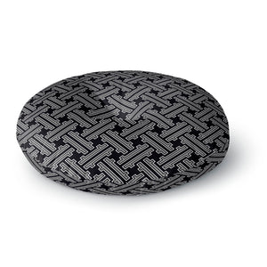 Japanese Weave Round Floor Pillow