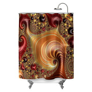 Infinite Invertebrates Shower Curtain