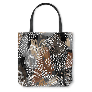 Abstract Cappuccino Tote Bag