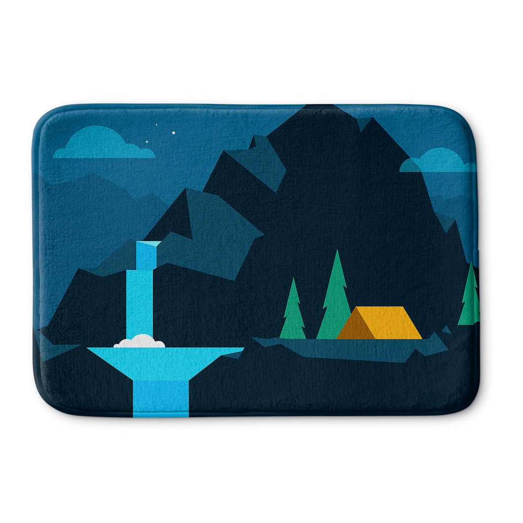 Blue Mountain Bath Mat
