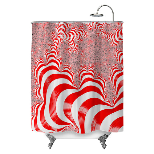 Waldo's DNA Shower Curtain