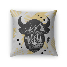 Buffs Flatirons Black and Gold Throw Pillow