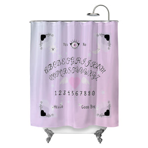 Pastel Spirit Board Shower Curtain