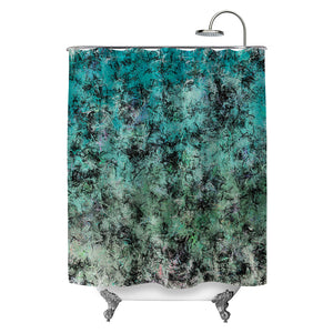 Sea Splatter Shower Curtain