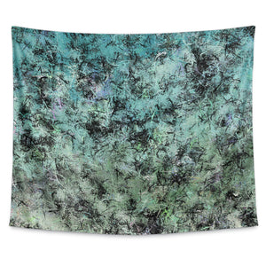 Sea Splatter Wall Tapestry